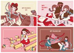 わけっこバレンタイン