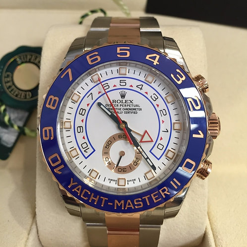 ROLEX TWO TONE YACHT-MASTER II - 116681