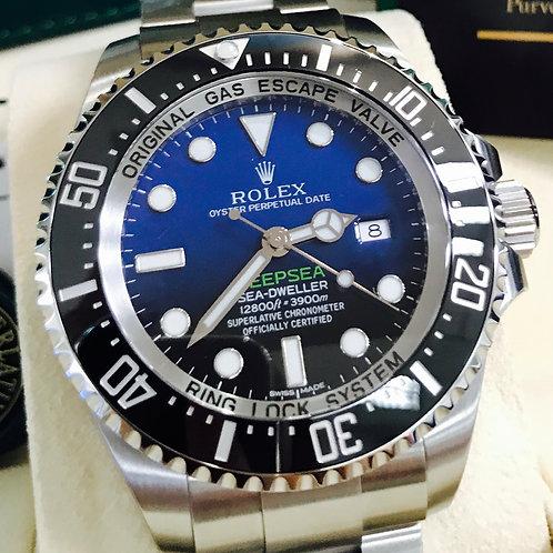 ROLEX DEEPSEA 116660 D BLUE DIAL - JAMES CAMERON