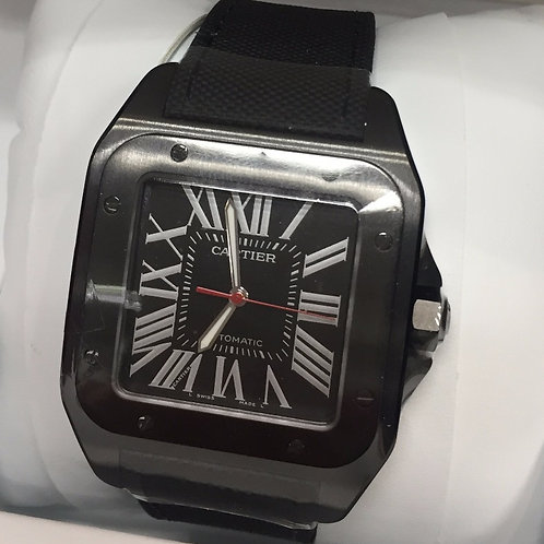 CARTIER SANTOS 100 CARBON WATCH - WSSA0006