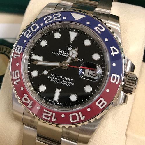 ROLEX GMT-MASTER II - 116719BLRO PEPSI