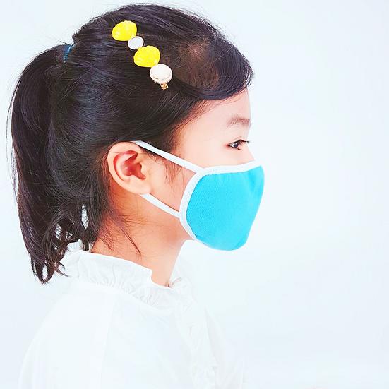 หน้ากากผ้าสำหรับเด็ก Ver 2 สายคล้องหูนิ่มมาก