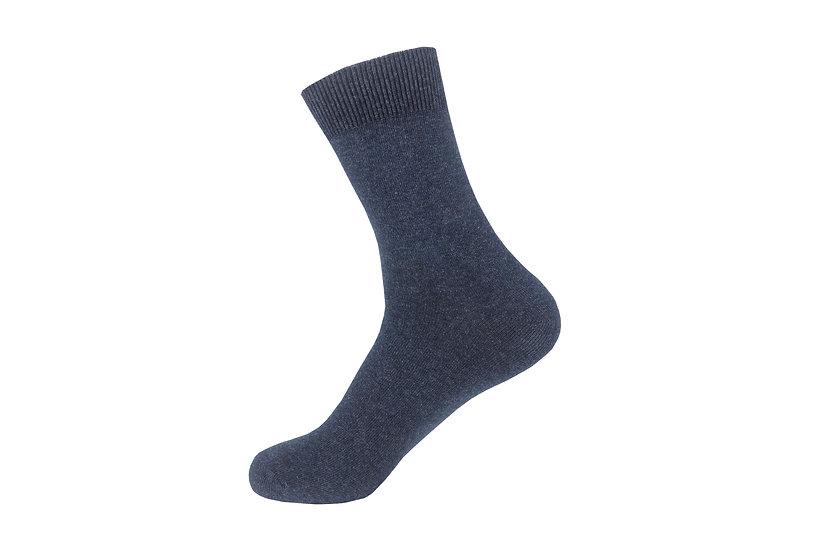 ถุงเท้าทำงานผ้าฝ้าย แบบสั้นเลยตาตุ่ม Daily Business Quarter