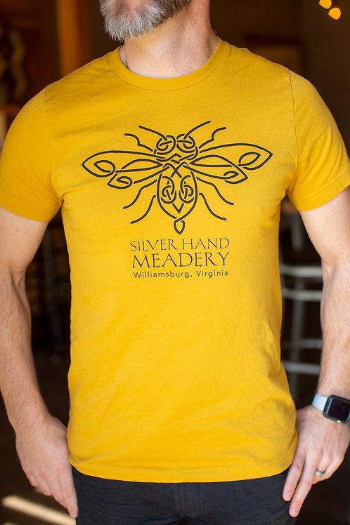 Honey Gold with Black Logo