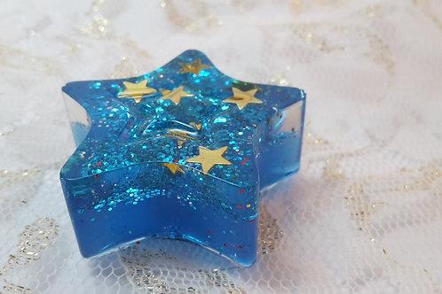 Magnett Blaue Stern