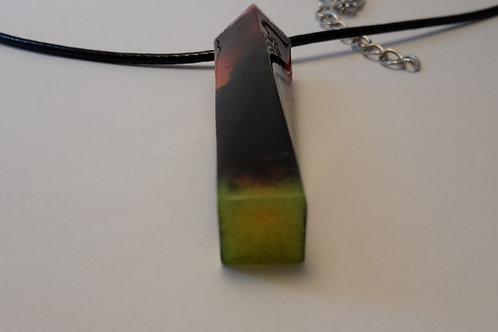 Halskette bunt/neon