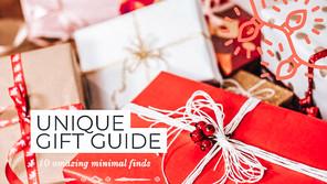10 Unique & Minimal Holiday Gift Ideas