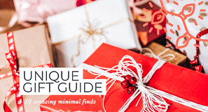 10 Unique & Minimal Holiday Gift Ideas