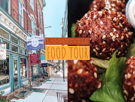 Lambertville NJ Food Tour