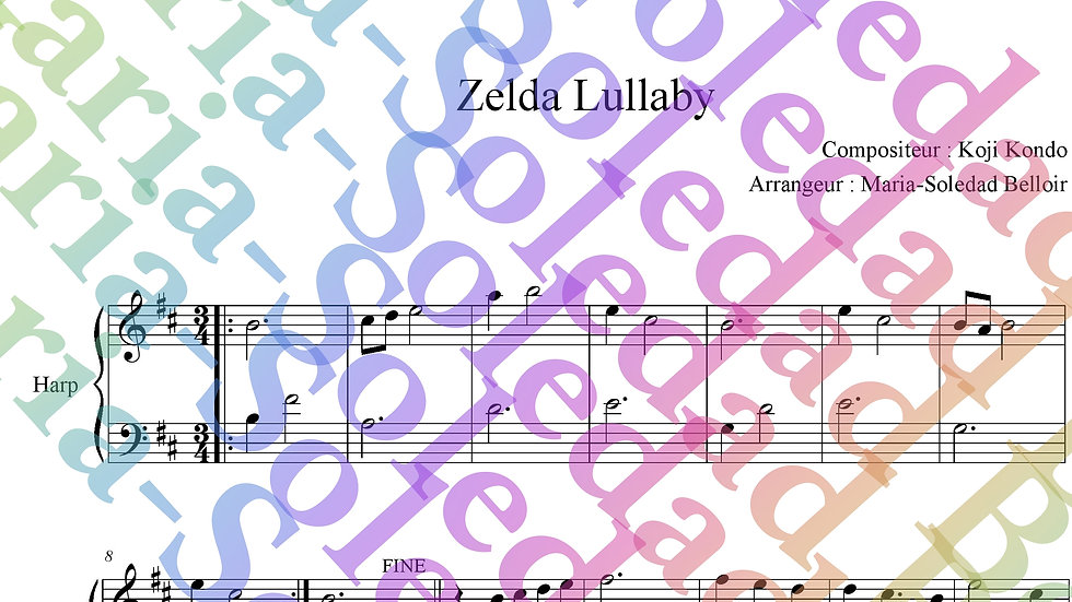 Zelda ballad - Legend of Zelda Harpe