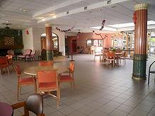 Hall d'accuel de l'EHPAD Alexandre Plancher