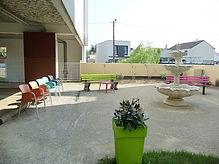 Jardin de l'EHPAD Mauperthuis