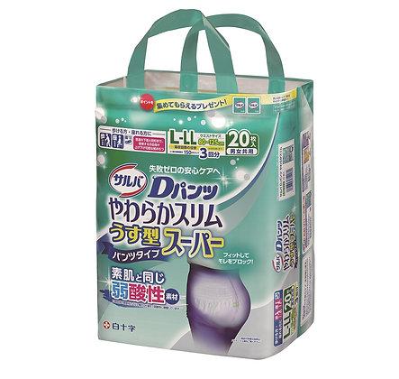 日本喜舒樂輕巧裝成人尿褲 L-LL 20包(3包箱)