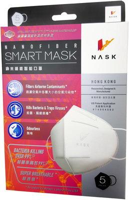 NASK 納米纖維智能口罩