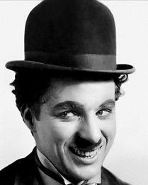 Charlie Chaplin as the Little Tramp