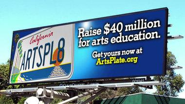 CA Arts Plate Campaign