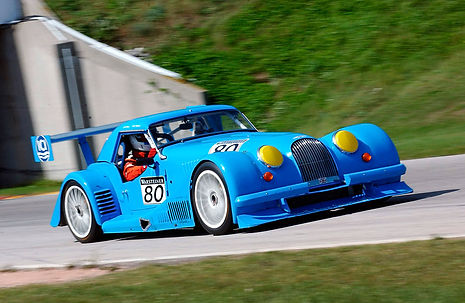 Big Blue Morgan Plus 8 GTR
