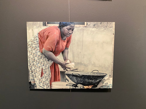 Cooking Lunch - Jermaine Gibbs