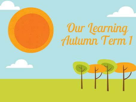 Our Learning Autumn Term 1