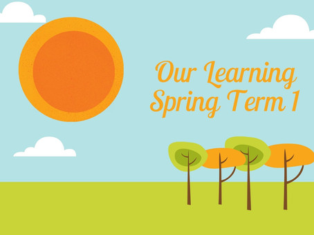 Our Learning Spring Term 1