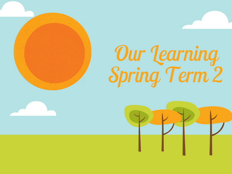 Our Learning Spring Term 2