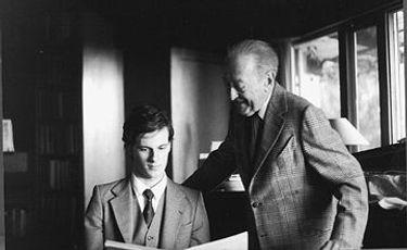 Rudolf Koelman & Jascha Heifetz in Los Angeles 1979