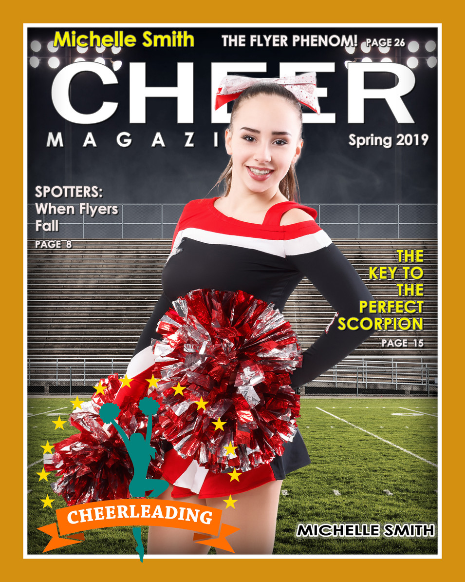 Magazine Cover-Cheer