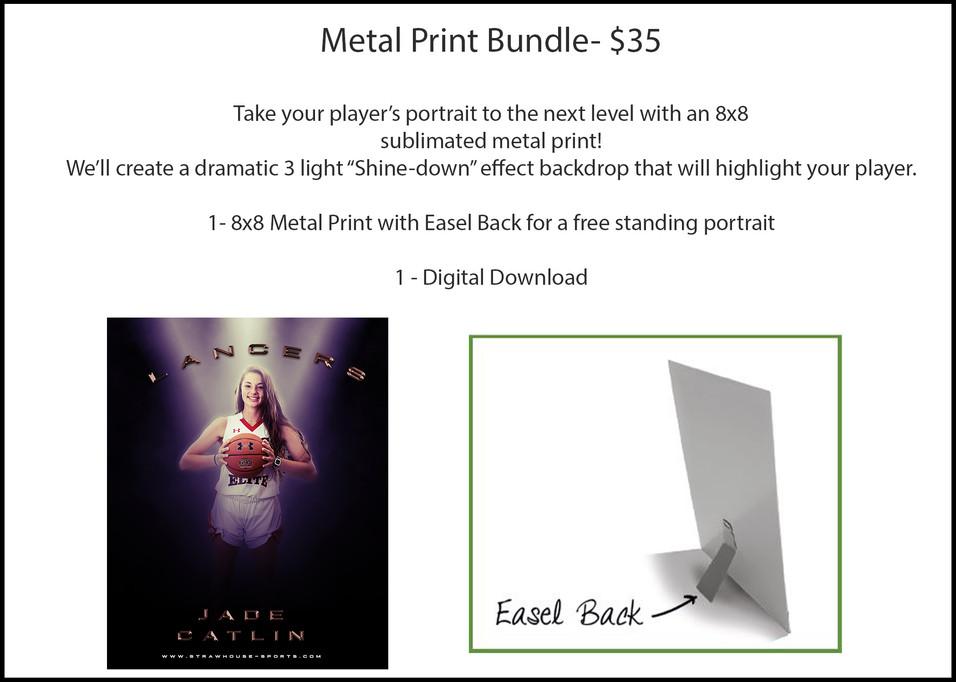 8x8 Metal Print