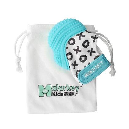 Munch Mitt Aqua Blue XO