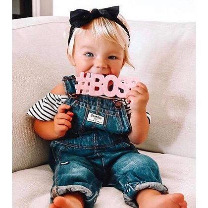 #BOSS Pink TeetheWord Teether
