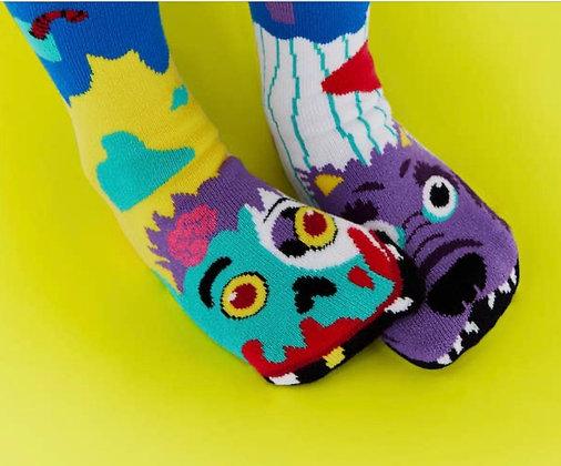 Zombie & Werewolf Pals Socks