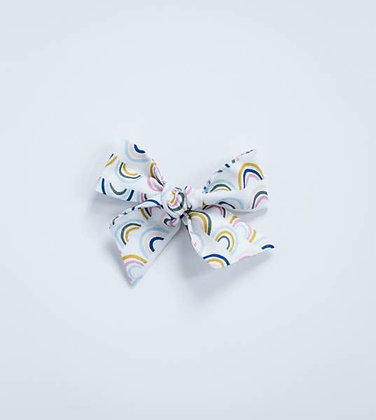 Rainbow Hand Tied Bow