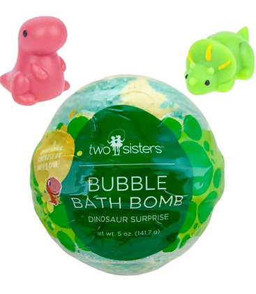 Dinosaur Squishy Surprise Bath Bomb
