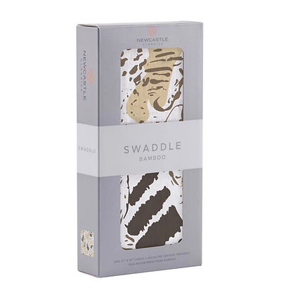 Animal Print Swaddle