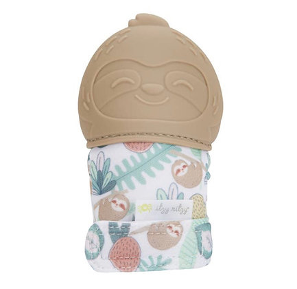 Sloth Teething Mitt