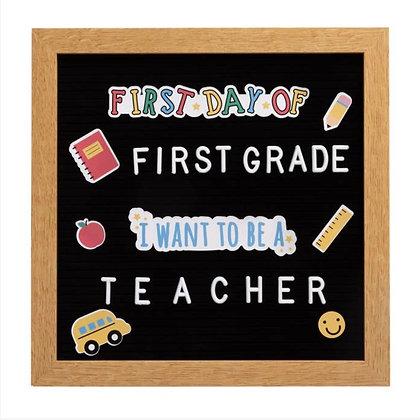 Back to School Letter Board