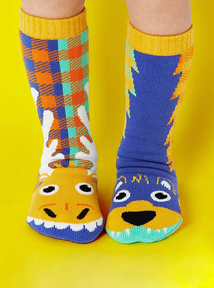 Moose & Bear Pals Socks