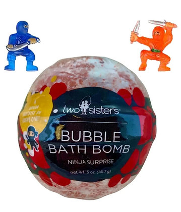 Ninja Surprise Bath Bomb