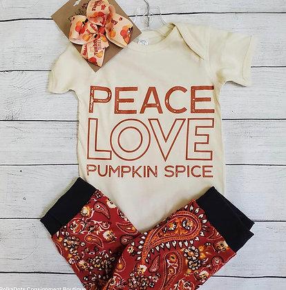 Peace, Love, Pumpkin Spice