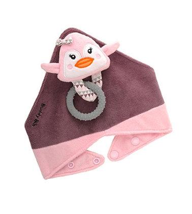 Pinky Penguin Buddy Bib