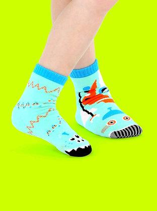 Robots & Aliens Pals Socks