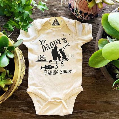 Daddys Fishing Buddy Bodysuit