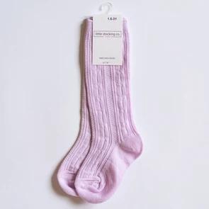 Lavender Knee Highs