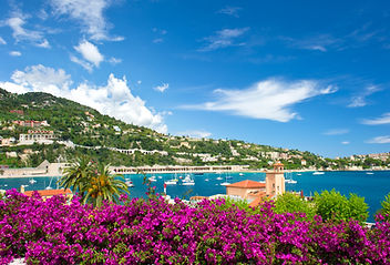 Cote d'Azur, french reviera, view of lux