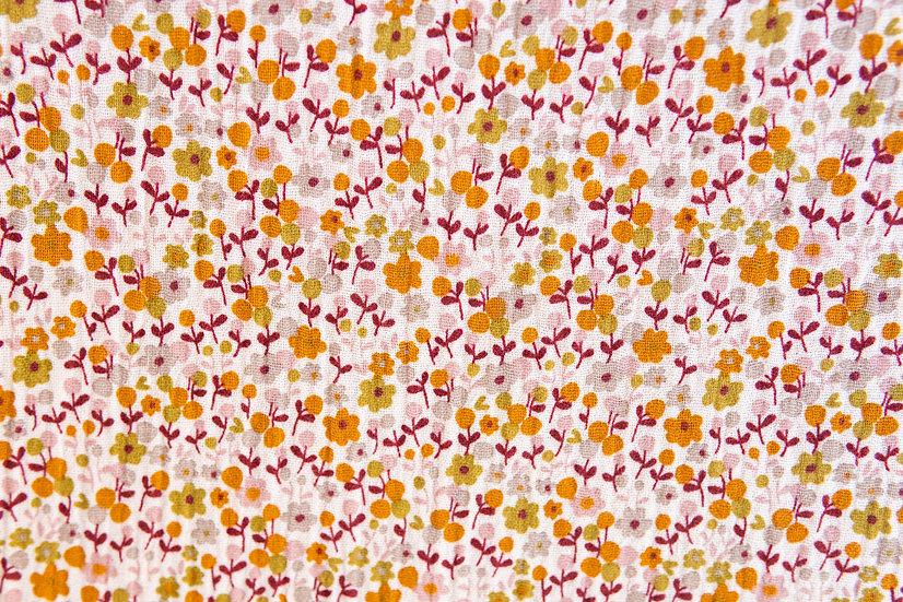 Petits Fleurs puder | Musselin | 0,5m