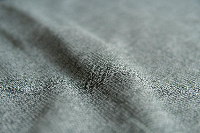Baumwollstrick | waldgrün | 0.5m