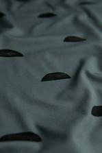Halbkreise graublau