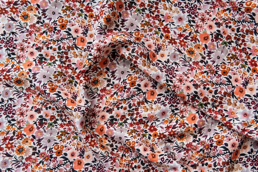 Summerflowers   Musselin   0,5m
