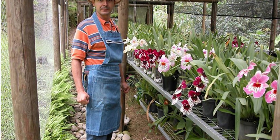 Live talk via Zoom: Gustavo Aguirre - Orquideas Katia, orchid nursery tour in Colombia