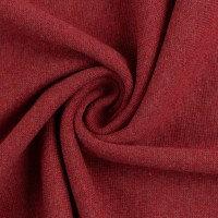 XXL-Bündchen | burgund meliert | 0.5m
